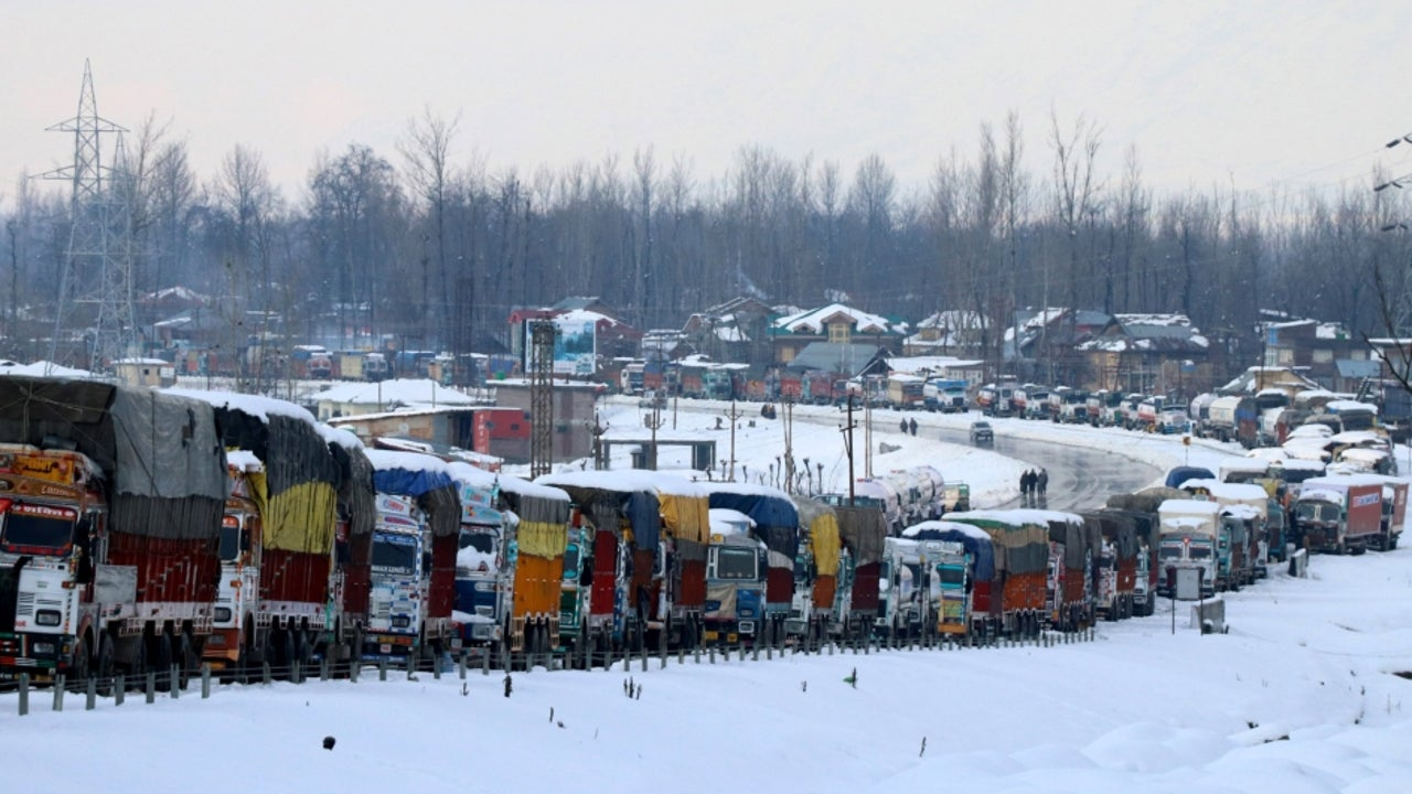 The Jammu-Srinagar highway is the only road link connecting Kashmir with the rest of the country. Its closure causes a shortage of essential supplies in the valley, causing major inconvenience to the people.