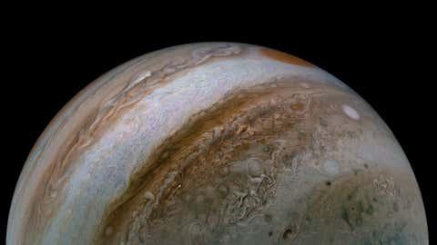 Latest image of Jupiter. (NASA/JPL-Caltech/SwRI/MSSS)