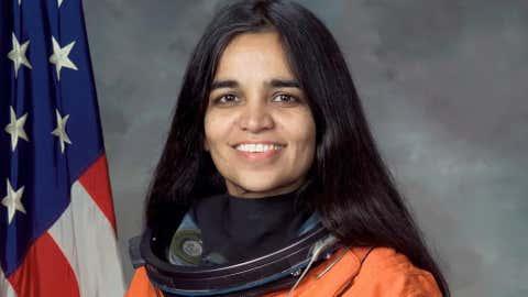 Kalpana Chawla. (NASA)