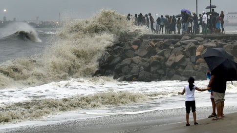 Cyclone 'Vayu' to Form over Arabian Sea by Tuesday
