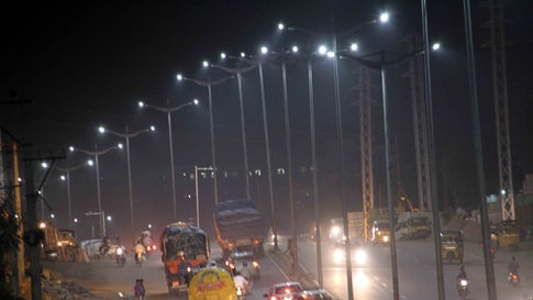 1 Lakh LED Streetlights Set Up in Kolkata to Reduce Carbon Emission