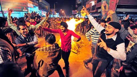 File photo: Lohri celebration in Jaipur, Rajasthan (Bhagirath Basnet/BCCL Jaipur)