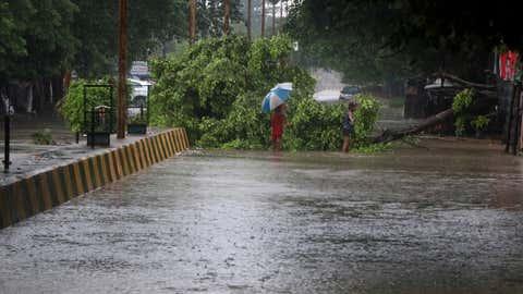 Lucknow rains. (V Sunil/BCCL Lucknow)