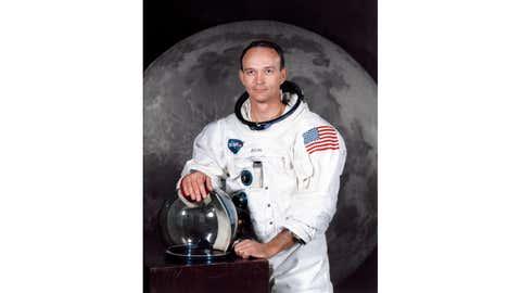File photo: Astronaut Michael Collins, Apollo 11 command module pilot. (NASA)