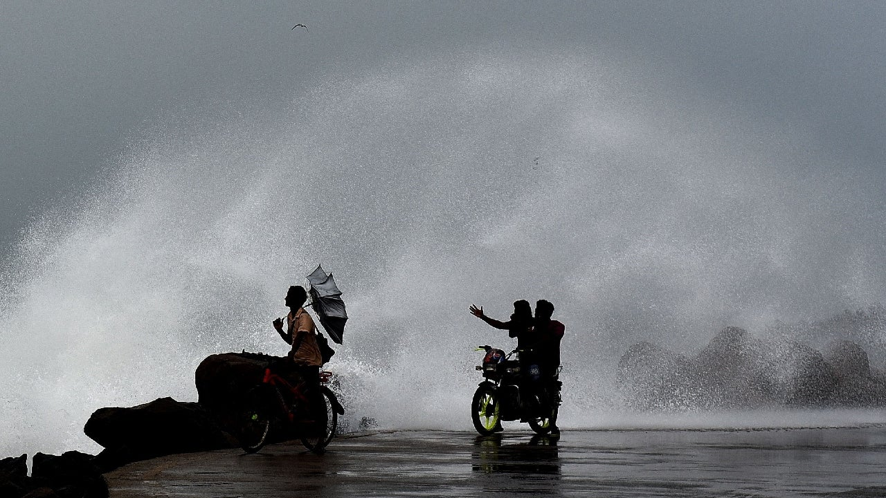 Cyclone Nivar is very likely to cross Puducherry coast on Wednesday late evening as a very severe cyclonic storm with a wind speed of 120-130 kmph gusting to 145 kmph.