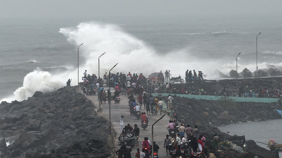 Andhra Braces for Cyclone, Coastal Districts on High Alert
