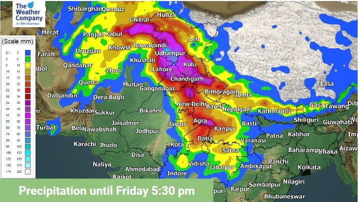 Another Wet Spell Approaching Himachal Pradesh, Jammu & Kashmir