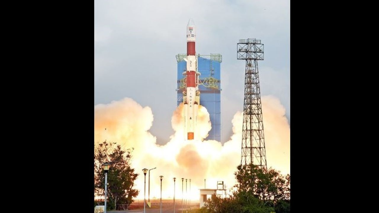 Just over 16 minutes into its flight, the rocket first slung RISAT-2BR1 into its orbit.