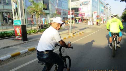 Harshad Abhyankar, Director of Save Pune Traffic Movement (SPTM), Pune, Maharashtra. (Harshad Abhyankar)