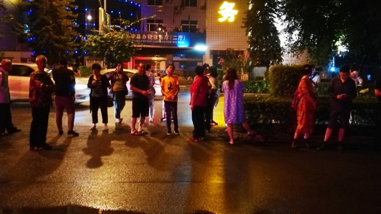 At least 12 people were killed and 125 others injured after a 6.0-magnitude earthquake hit China's Sichuan province.