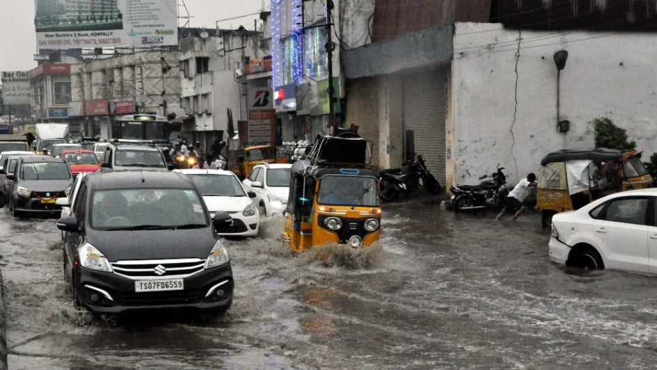 Hyderabad: Rains Break 100-year-old Record for December
