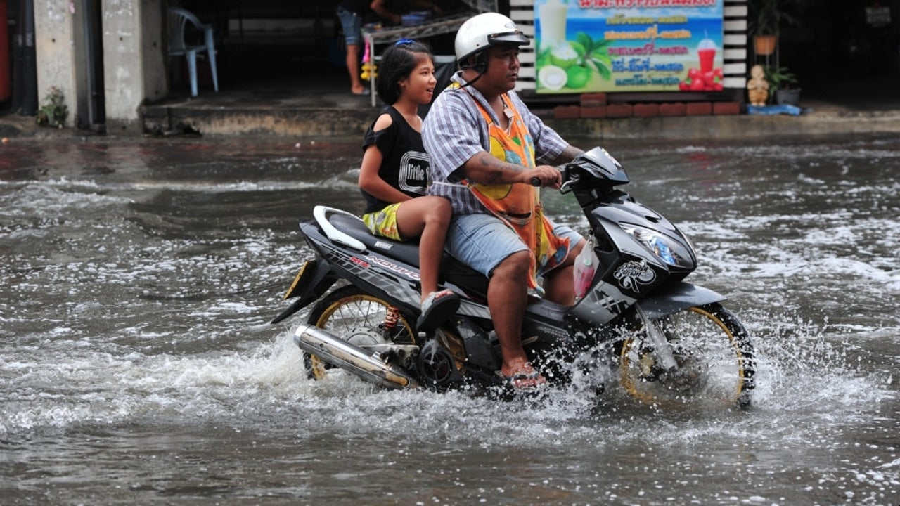 Noul is as devastating as tropical storm Podul, which caused widespread flooding in the Nakhon Phanom province last August, according to the Thai Meteorological Department (TMD).