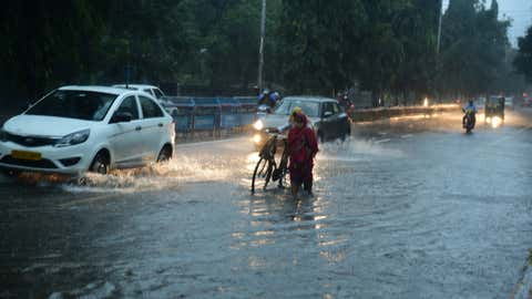 Heavy rains in Telangana.(Ramoorthy/BCCL Hyderabad)