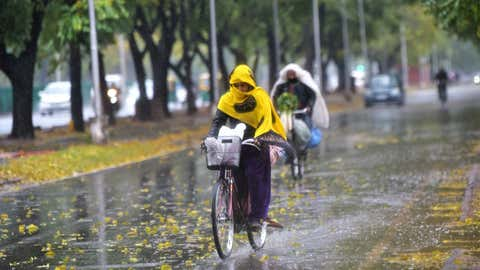 Parts of Chandigarh experienced rainy weather in February.  (Balish Ahuja, TOI, BCCL, Chandigarh)