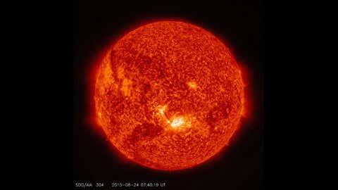 Representative Image: Solar flares captured by NASA's Solar Dynamics Observatory. (NASA/SDO)