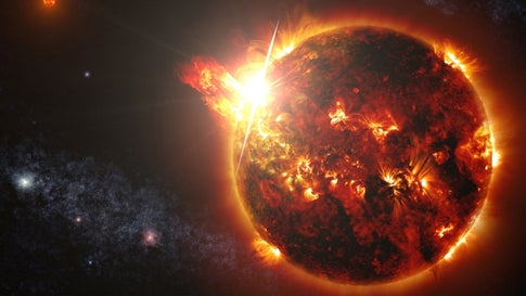 Scientists Detect Large Amounts of Oxygen in Ancient Star's Atmosphere