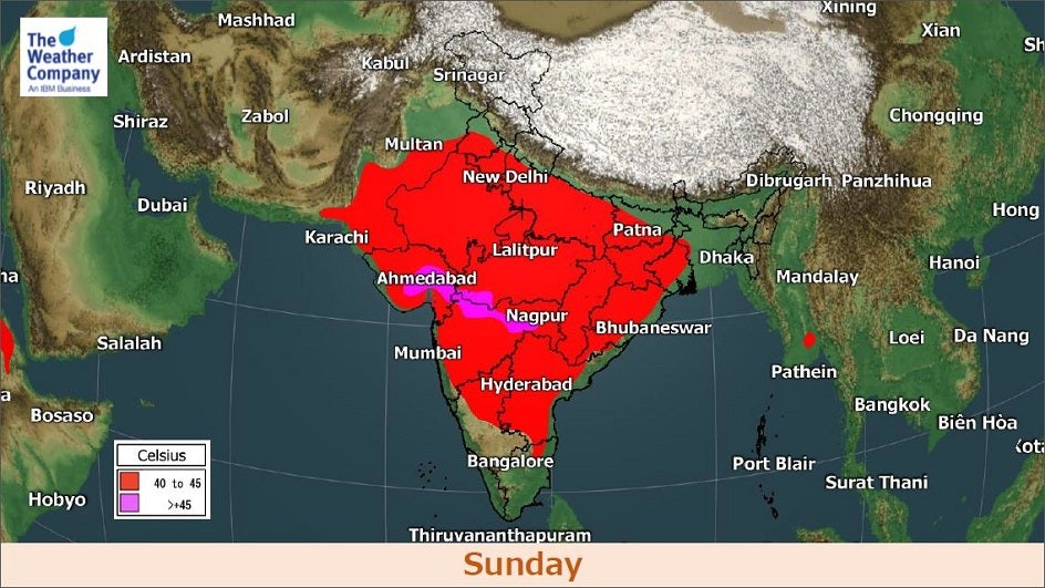 Weekend Scorcher: Central and Western India Set to Cross 45°C; 17 States Above 40°C