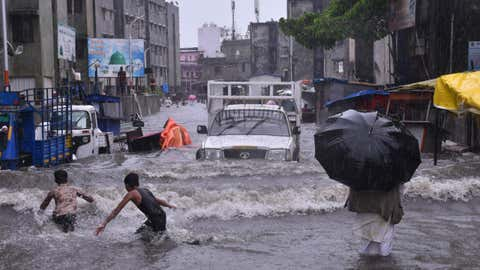 File photo: Heavy rain leads to waterlogging in Surat, Gujarat (Gaurang Joshi/BCCL Surat)