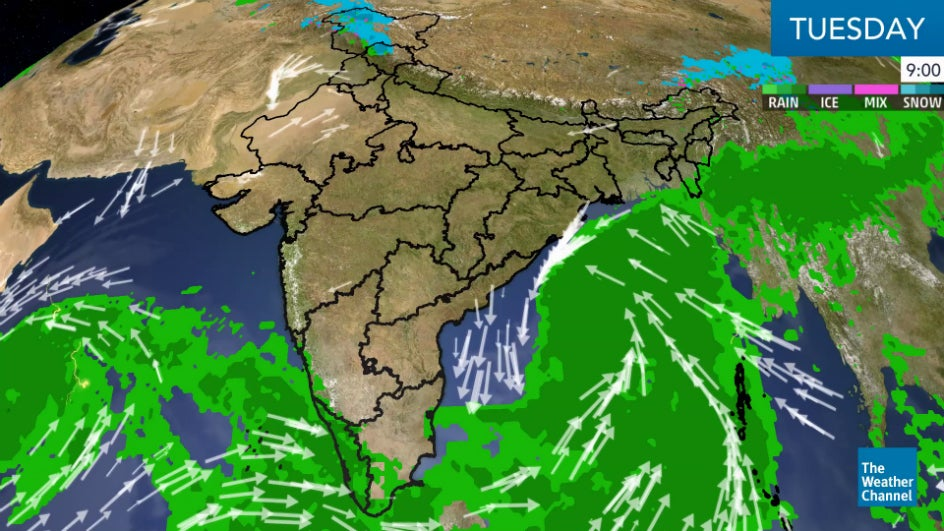 Rains Continue Due to 'Phethai'; Another Threat Brews over the Bay of Bengal