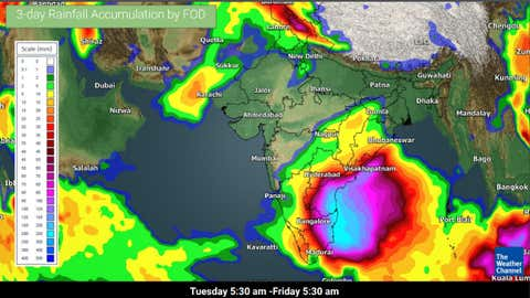 Isolated Rain Thunderstorms Expected Over Tamil Nadu Andhra Pradesh The Weather Channel Articles From The Weather Channel Weather Com