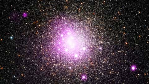 Representative Image: In this Chandra image of ngc6388, researchers have found evidence that a white dwarf star may have ripped apart a planet as it came too close. (NASA)