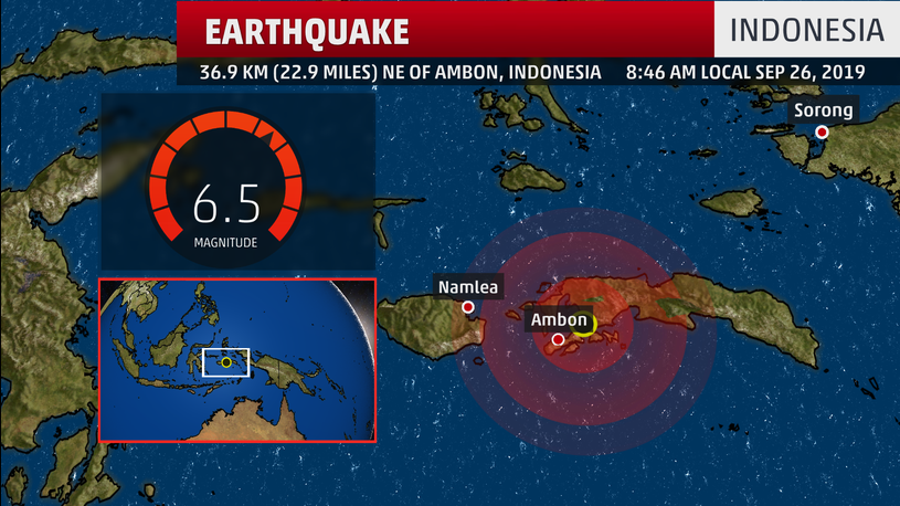 More Than A Dozen Dead After Powerful Earthquake Rocks Indonesia