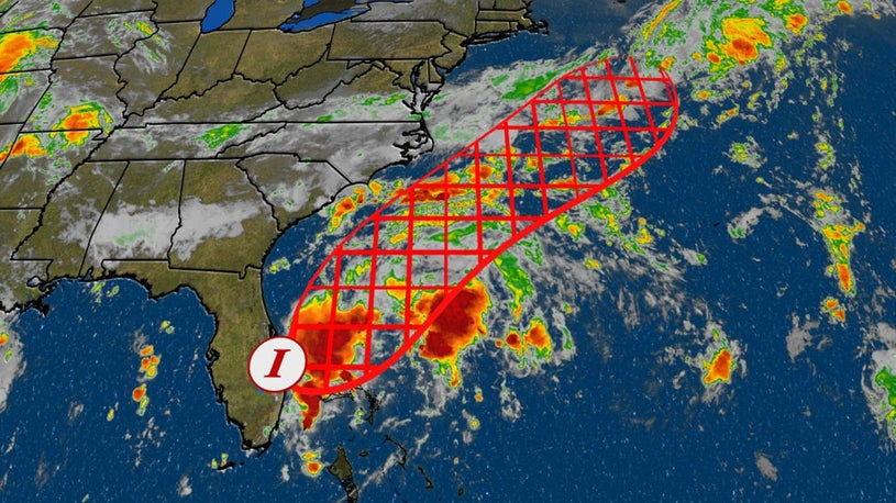 Invest 98L Expected to Likely to Develop Off Southeast Coast