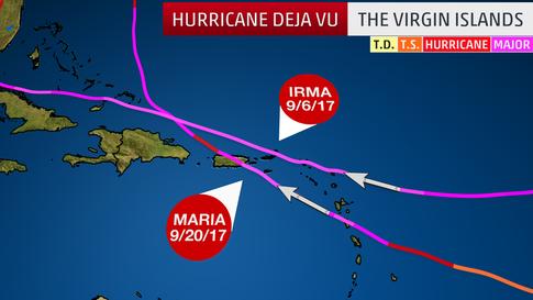 Not Just Irma and Maria: Recent Examples of Hurricane Deja Vu