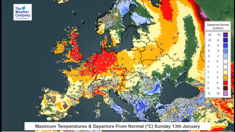 Snow Map Europe.Death Toll Rises In Europe As Snow Continues To Fall The Weather