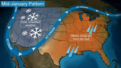 Jet Stream Forecast Map Canada It's the Coldest Time of Year, But Frigid Temperatures Won't Be