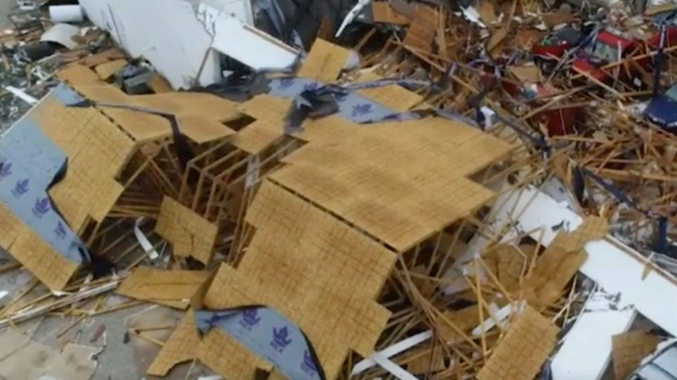 Daylight Reveals Scope of Damage in Jefferson City, MO