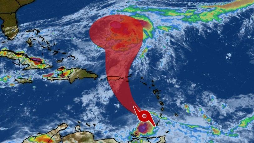Karen Headed for Puerto Rico, Virgin Islands