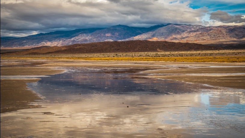 Death Valley Gets Temporary Lake After Storm Floods Parts of Park