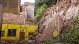Landslide Crashes Down Near Gas Station in Sichuan, China