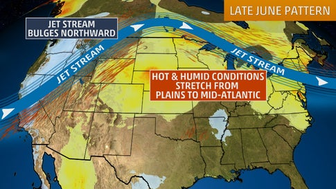 Surge Of Heat And Humidity Will Persist This Weekend In Areas Of The - Us-humidity-map