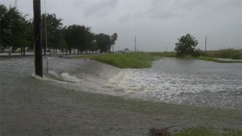 Barry Batters Louisiana, Flooding Homes, Prompting Rescues