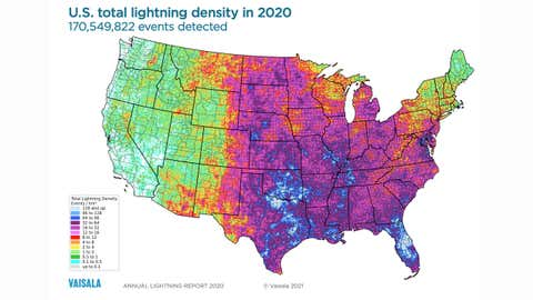 Us Drought Map Weather Com There Was a U.S. Lightning Drought in 2020, With Some Unusual