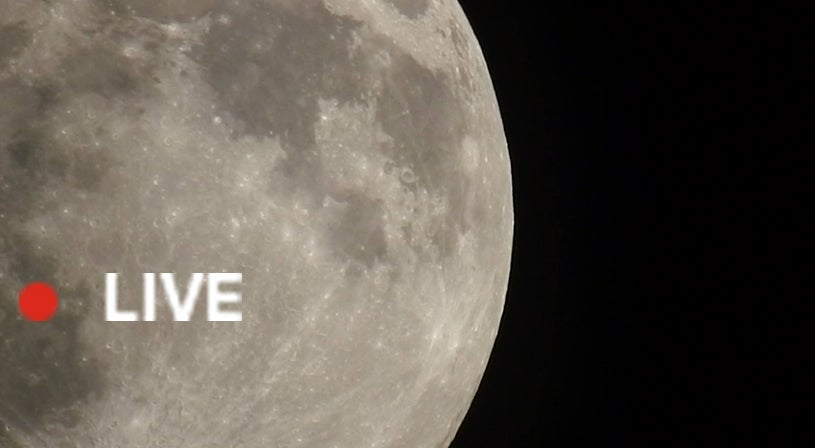 WATCH LIVE: Full Pink Moon Takes Over Sky