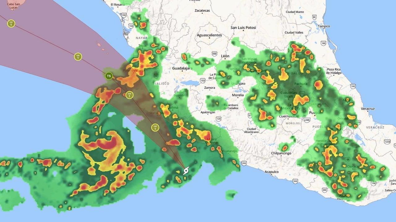 Meteorologist Ari Sarsalari has the latest forecast for Tropical Storm Lorena.