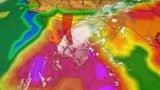 Lorena Brings Flooding Rain Threat to Mexico