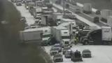 50 Vehicles Collide in Major Pileup near Des Moines, Iowa