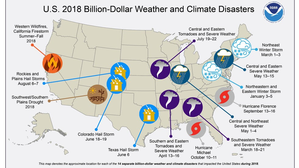 2018 Was 14th-Warmest, Third-Wettest Year on Record for U.S. ... U S Map United States Climate on pennsylvania climate, ireland weather & climate, delaware state climate, brazil climate, guatemala climate, south america climate, western lowlands climate, south carolina climate, sc coastal zone climate, michigan state climate, east africa climate, west climate, coast region climate, places with mild climate, southern region climate, utah state climate, india climate, tropical marine climate, new york state climate, usa climate,