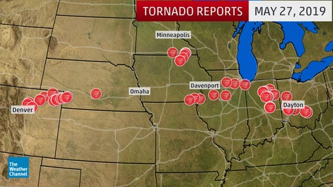 Hundreds of Tornadoes Ravage the Plains, Midwest and Mid