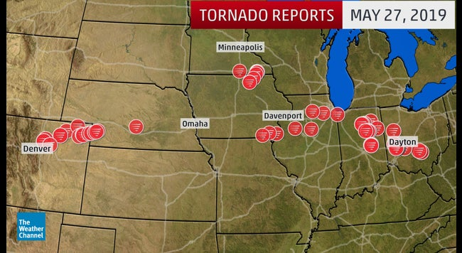 Hundreds of Tornadoes Ravage the Plains, Midwest and Mid-Atlantic in