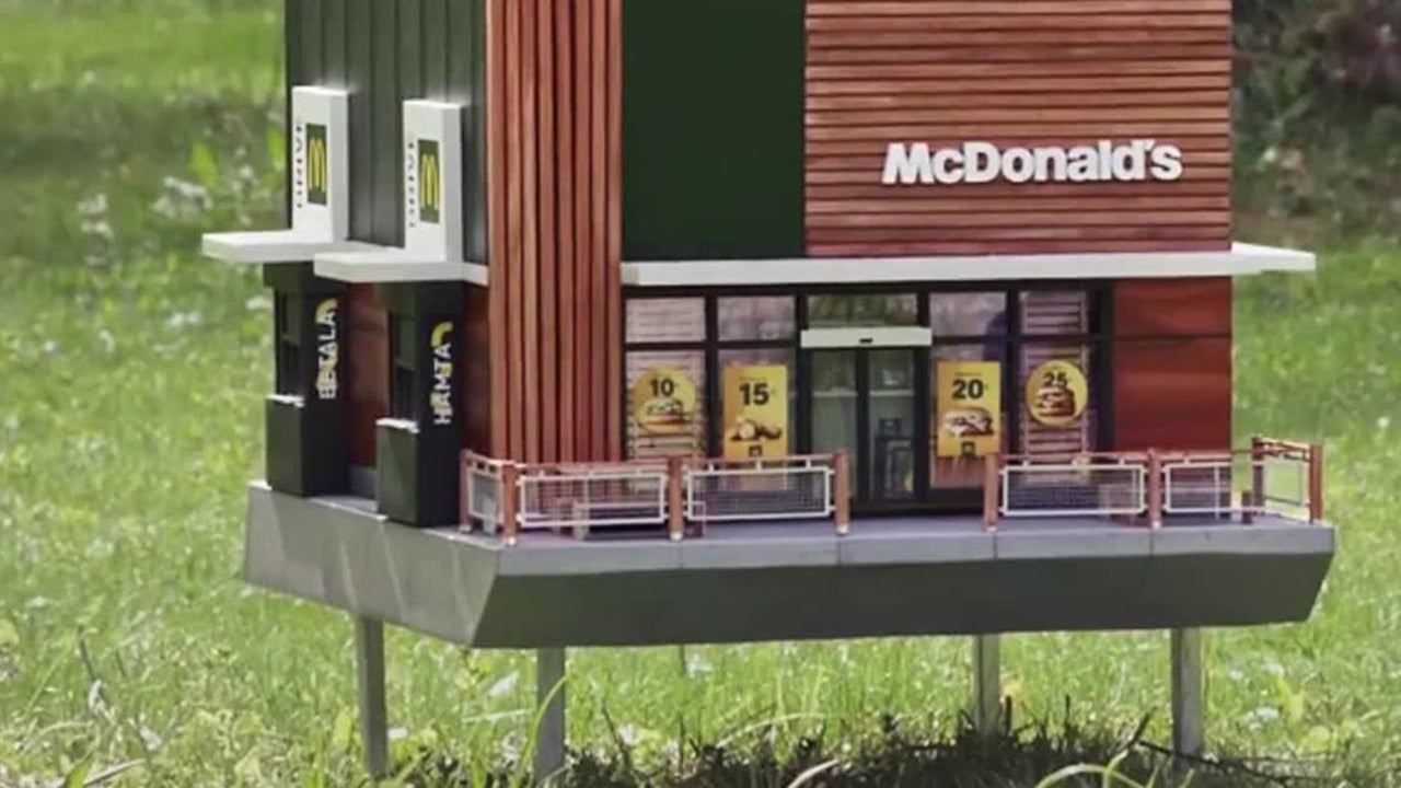 McDonald's Tiny New Restaurant Has Everyone Buzzing