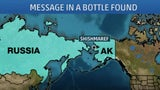 Alaskan Man Finds 50-Year-Old Message in a Bottle from Cold War Russia