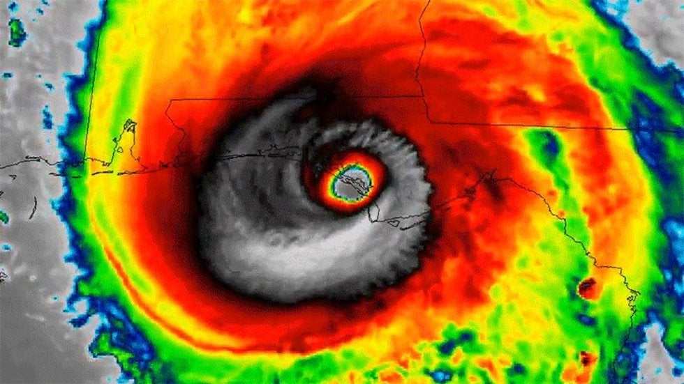 hurricane michael upgraded to a cat  5 at time of u s