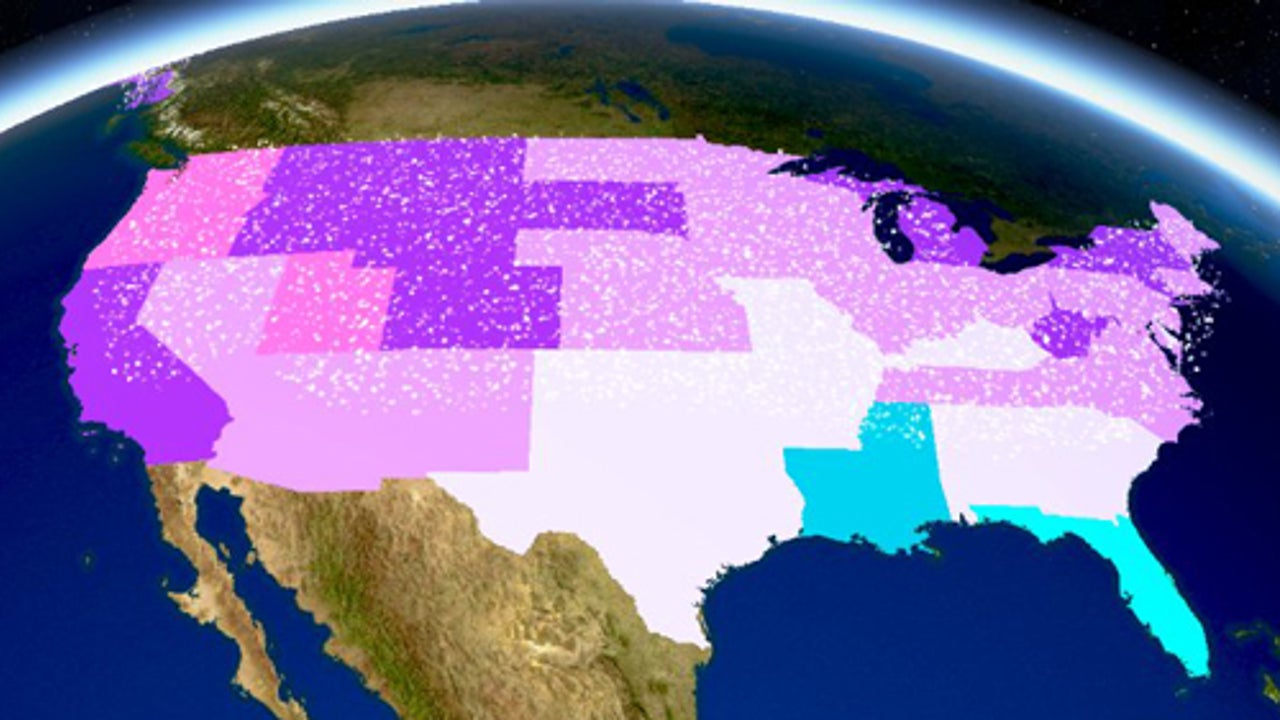 Here Are The Snowiest Places In The U.S.
