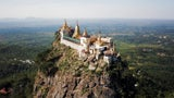 This Monastery Sits Atop a Volcano