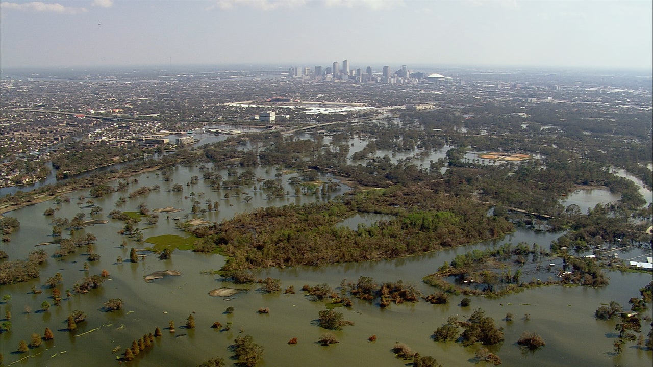 A Sinking New Orleans More Prone to Flooding